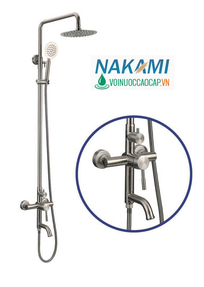 Bộ Sen Cây Inox Cao Cấp Nakami NAS-1103