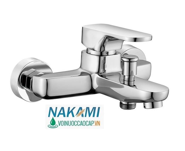 Bộ Củ Sen Nóng Lạnh Đồng Thau Cao Cấp Nakami NAC-4003