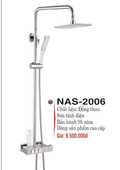 Bộ Sen Cây Nóng Lạnh Đồng Thau Cao cấp Nakami NAS-2006