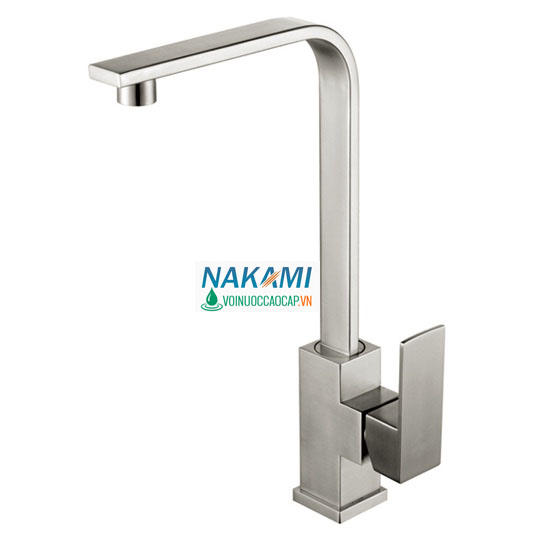 Vòi rửa chén Inox 304 đúc cao cấp Nakami VC-6003