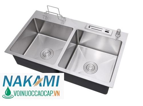 Chậu Rửa Chén Inox 304 Đúc Nakami NAC-1003
