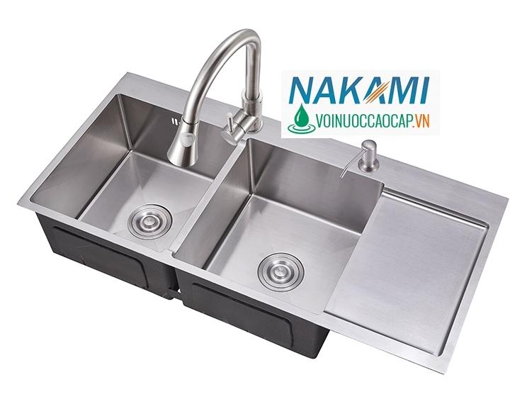 Chậu Rửa Chén Inox 304 Đúc Nakami NAC-1006