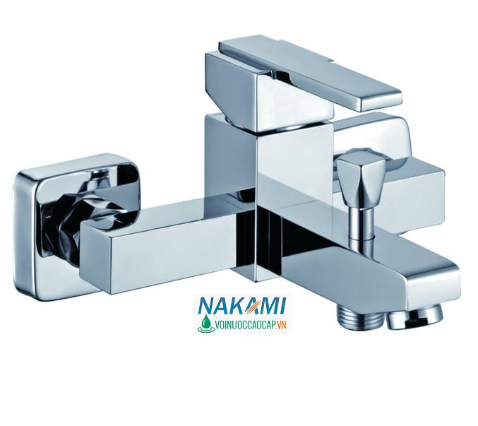 Bộ Củ Sen Nóng Lạnh Đồng Thau Cao Cấp Nakami - NAC-4001