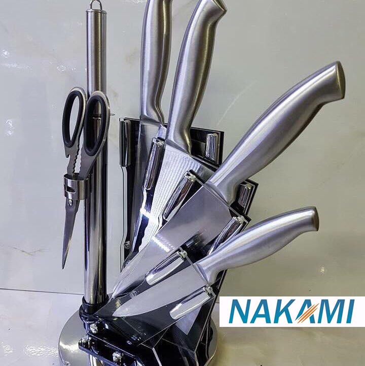 Bộ dao inox 7 món cao cấp Nakami