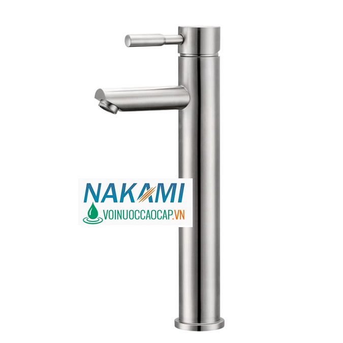 Vòi Lavabo Nóng Lạnh Inox 304 Cao Cấp Nakami NAV-4004
