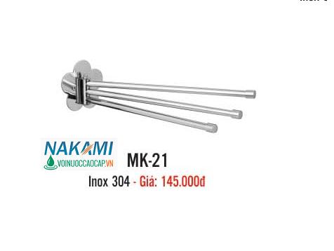 MÁNG KHĂN INOX 304 CAO CẤP NAKAMI MK-21