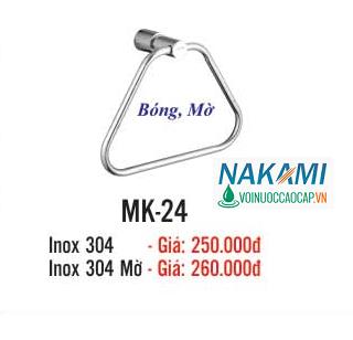 MÁNG KHĂN INOX 304 CAO CẤP NAKAMI MK-24