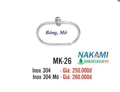 MÁNG KHĂN INOX 304 CAO CẤP NAKAMI MK-26