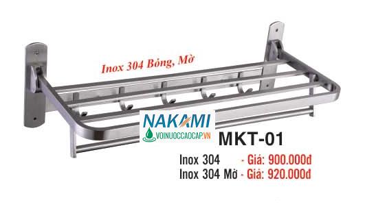 MÁNG KHĂN INOX 304 - 2 TẦNG ĐA NĂNG CAO CẤP NAKAMI MKT-01