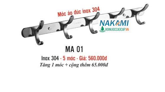 MÓC ÁO INOX 304 CAO CẤP NAKAMI MA-01