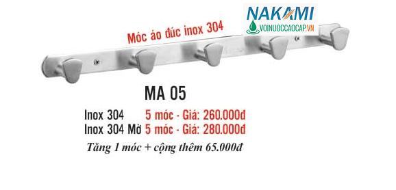 MÓC ÁO INOX 304 CAO CẤP NAKAMI MA-05