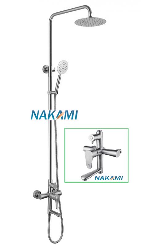 Bộ Sen Cây Inox 304 Cao Cấp Nakami NAS-1108