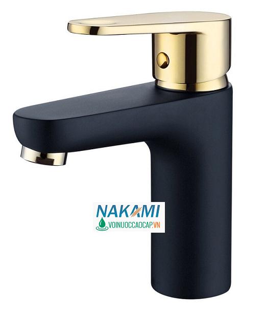 Vòi Lavabo Nóng Lạnh Đồng Thau Nakami NAV-5004
