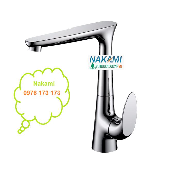 VÒI RỬA CHÉN NÓNG LẠNH CAO CẤP NAKAMI - VC-7001